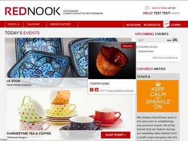 Rednook -  Ecommerce Website in Magento