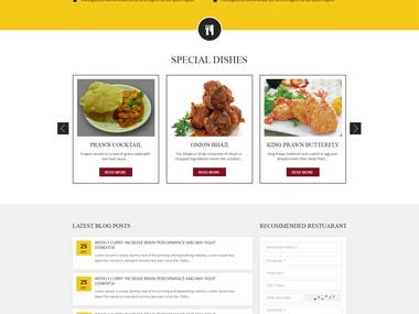 Find-A-Cuisine Website with Mobile App and POS