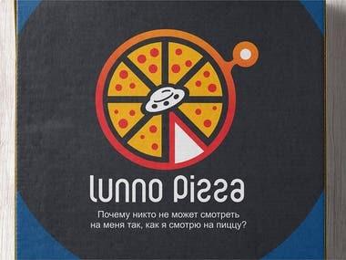 Logo for a pizzeria