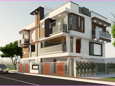 3d elevation rendering