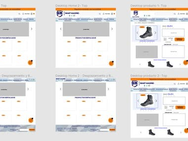 Redesigning a Gear Protective Ecommerce Website.