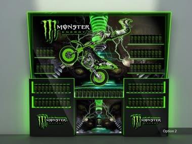 3D Model for Monster