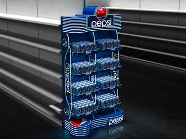 3D Model for Pepsi