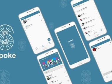 Flutter Based Chatting app Firebase