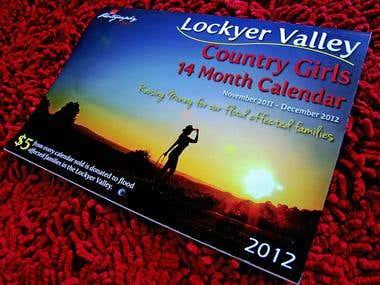 2012 Country Girls Calendar