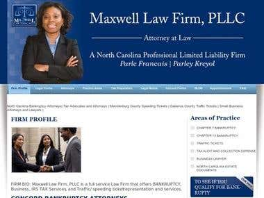 SEO for law site