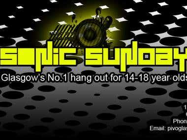 Sonic Sunday (Facebook Cover Art)