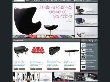 Ecommerce base Furniture site