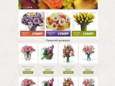 Flower Website