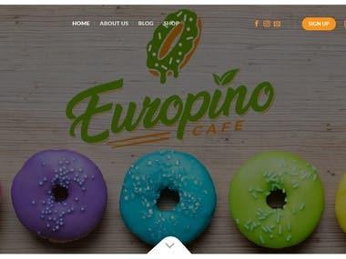 WP/Flatsome Webshop - www.europino.cafe