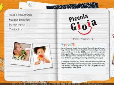 Piccolo Website