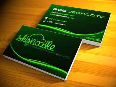 Sky Noodle Business Card
