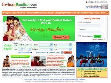Pavitra Bandhan Website