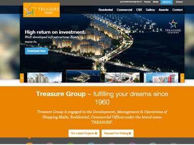 Treasure Group Website