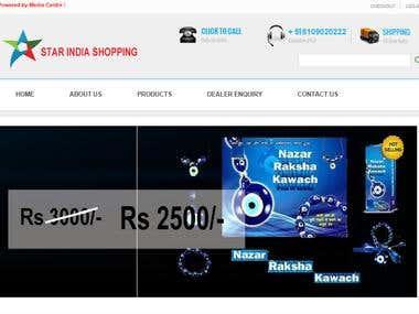 Star India Website