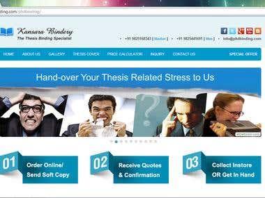 phdbinding website