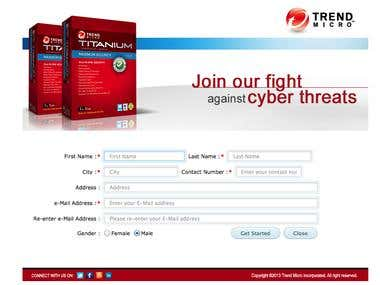 Survey Application for Trend Micro Anti Virus