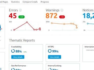 91% Status in SemRush