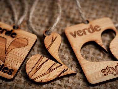 Bamboo Pendant for Verde Styles