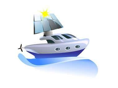 Solar Boat Logo