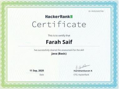 HackerRank - Java Basci