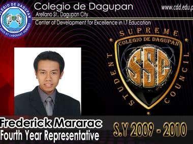 Colegio de Dagupan SSC organization ID