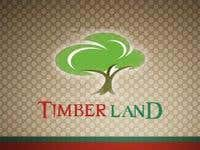 A logo for a timber production company