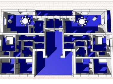 3D fast visual of house building