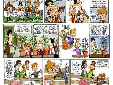 cartoon strip examples