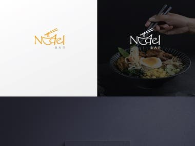 Nudel Bar logo for restaurant!