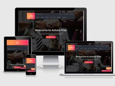 Astute Pros | WordPress Website