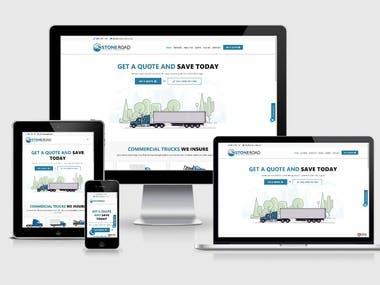 StoneRoad Insurance | WordPress Website