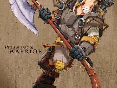 Steampunk Warrior