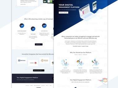 Digital Entertainment Website