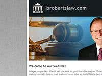 Local Law Firm website design.