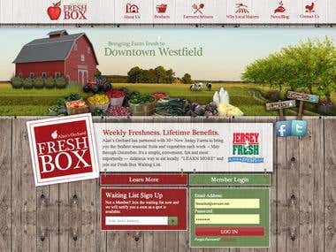 Alan's Orchard Website