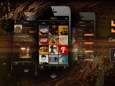 Blyrb Social Media iPhone App