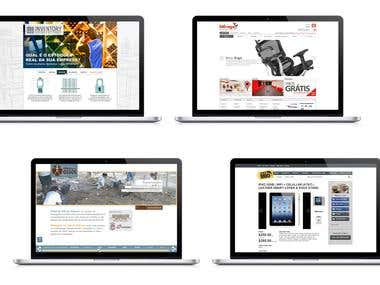 Sites Layouts