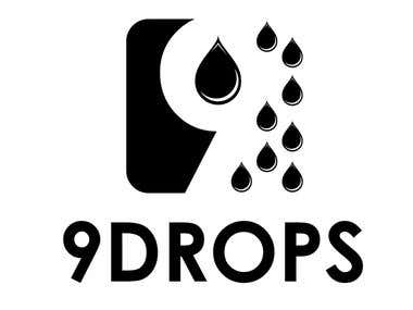 Logo design for 9Drops