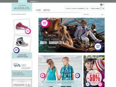 Maison Marasil - Magento Based eCommerce store