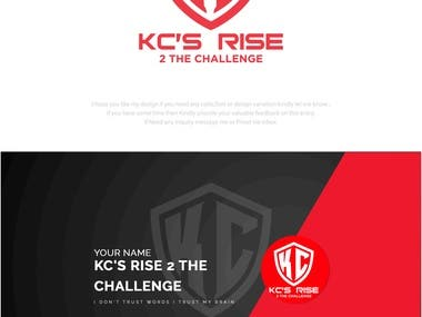 A gaming Youtube channel branding logo design