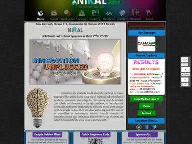 Niral '12 - A National Level Technical Symposium