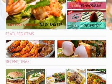 Online Food Corner