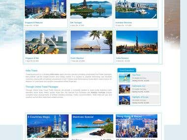 Online Travel Portal Website