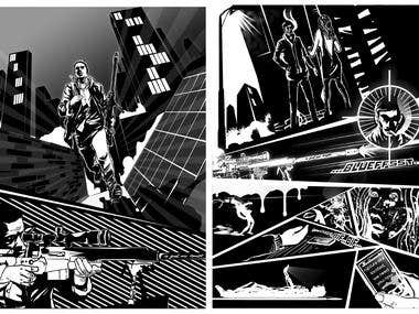 2 page of my comic art work