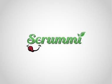 SCRUMMI logo design