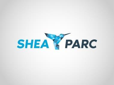 SHEA PARK logo design