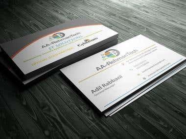 Logo & Business Card for AA Rehman Tech