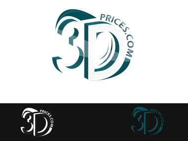 logo concept for 3dprices.com