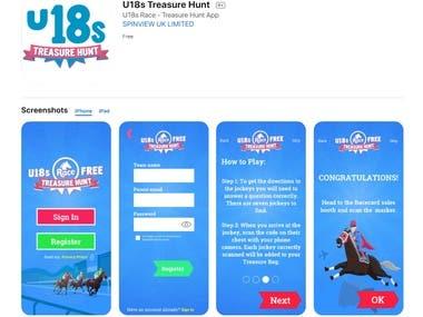 4. U18s Treasure Hunt